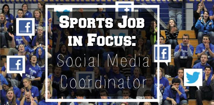 sports social media coordinator