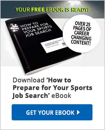 how to prepare for your sports job search ebook