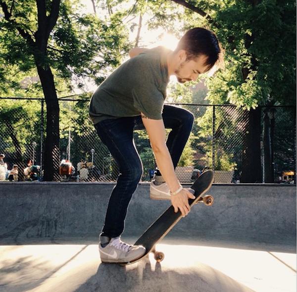 skateboarding on instagram
