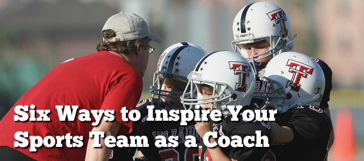 inspiring as a sports coach