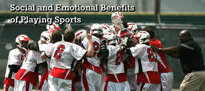 emotional benefits of playing sports