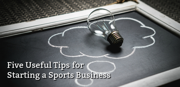 starting a sports business