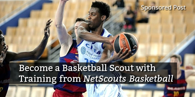become a basketball scout