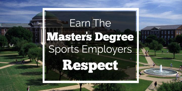 smu master's in sport management