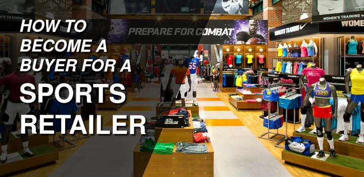 buyer for a sports retailer