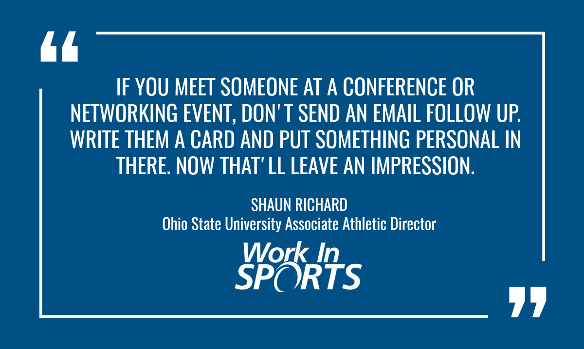 working in college sports quote 2