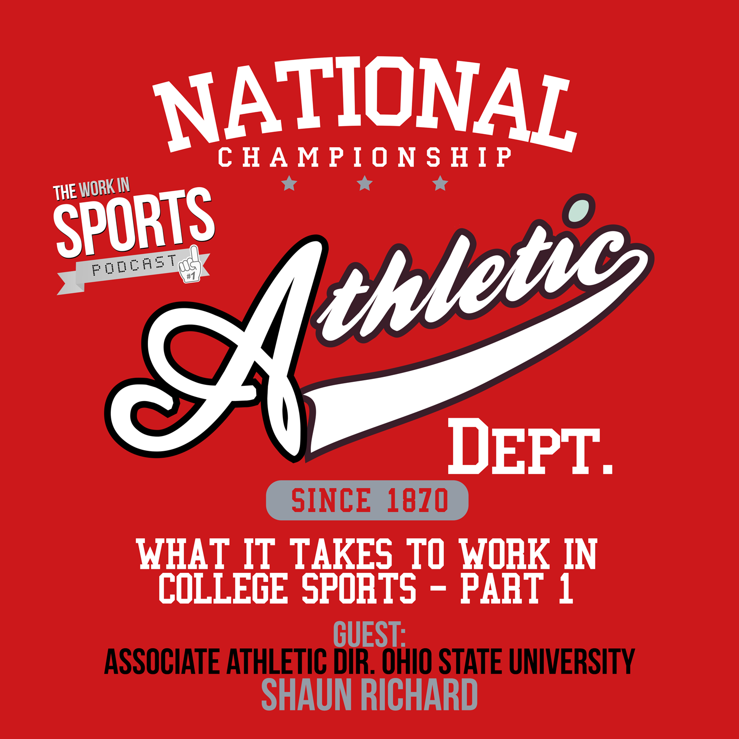 what it takes to work in college sports