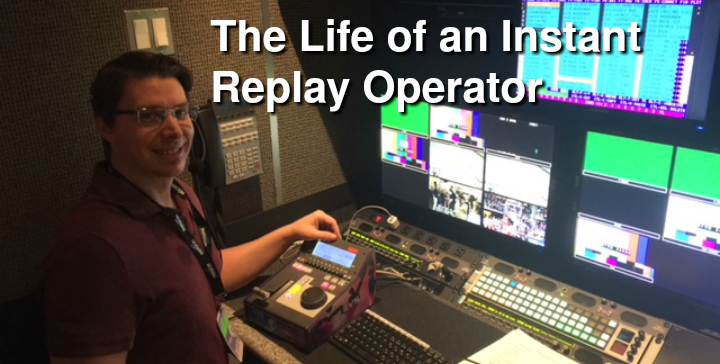 sports instant replay operator