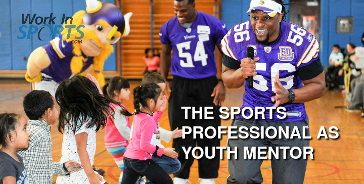 SPORTS PROFESSIONALS AS YOUTH MENTORS