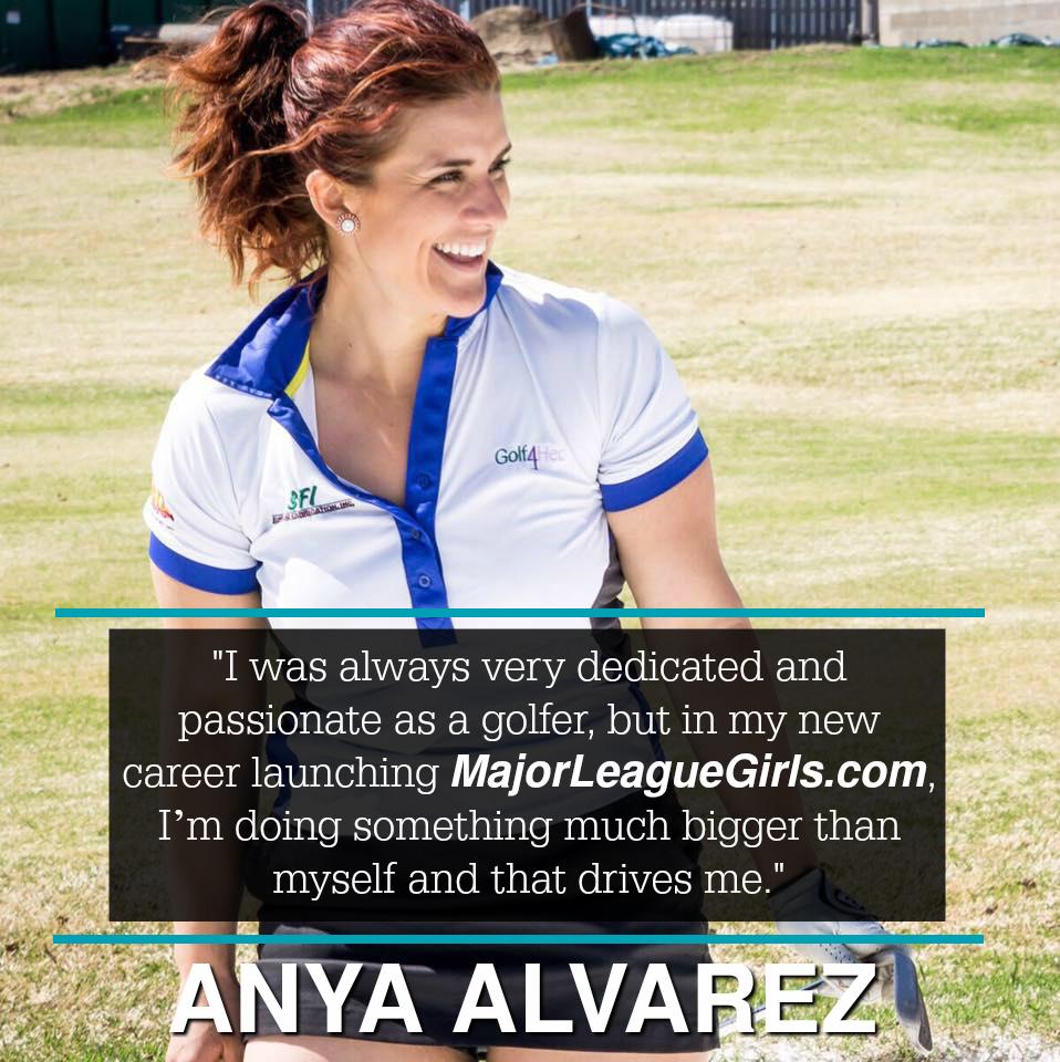 anya alvarez major league girls founder