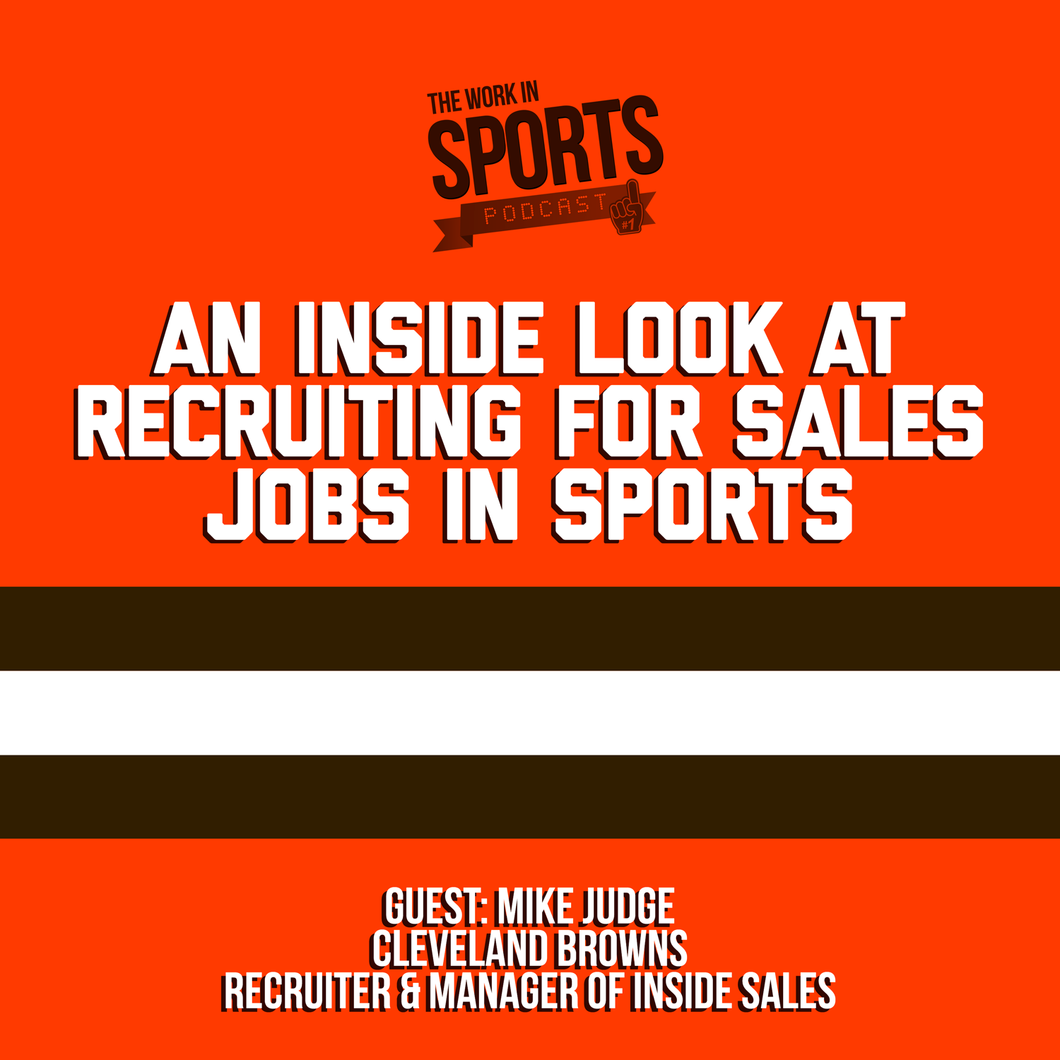 recruiting Cleveland browns sports sales jobs
