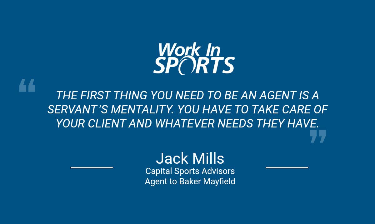 jack mills nfl agent capital sports advisors