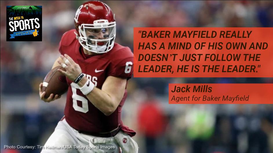jack mills agent for baker mayfield