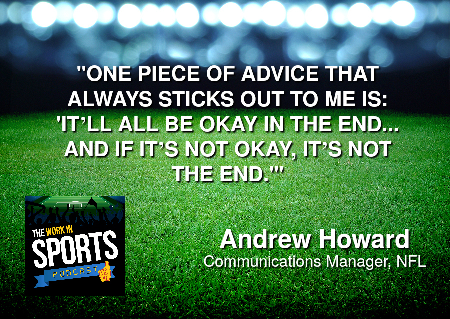 Andrew Howard Communications Manager NFL
