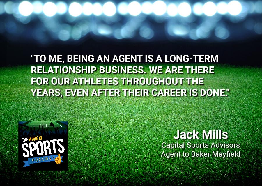 jack mills nfl agent