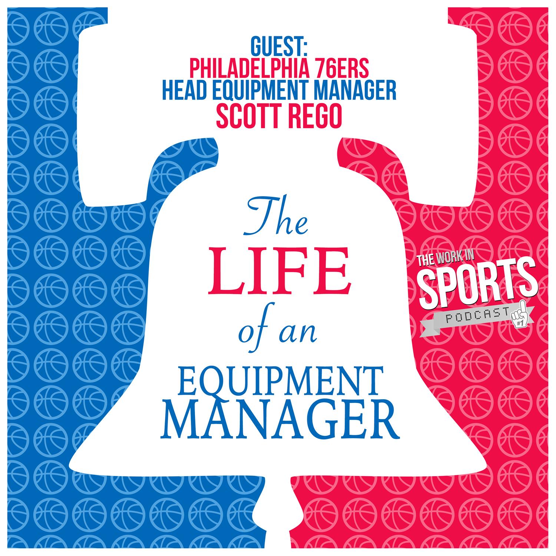 nba equipment manager scott rego philadelphia 76ers