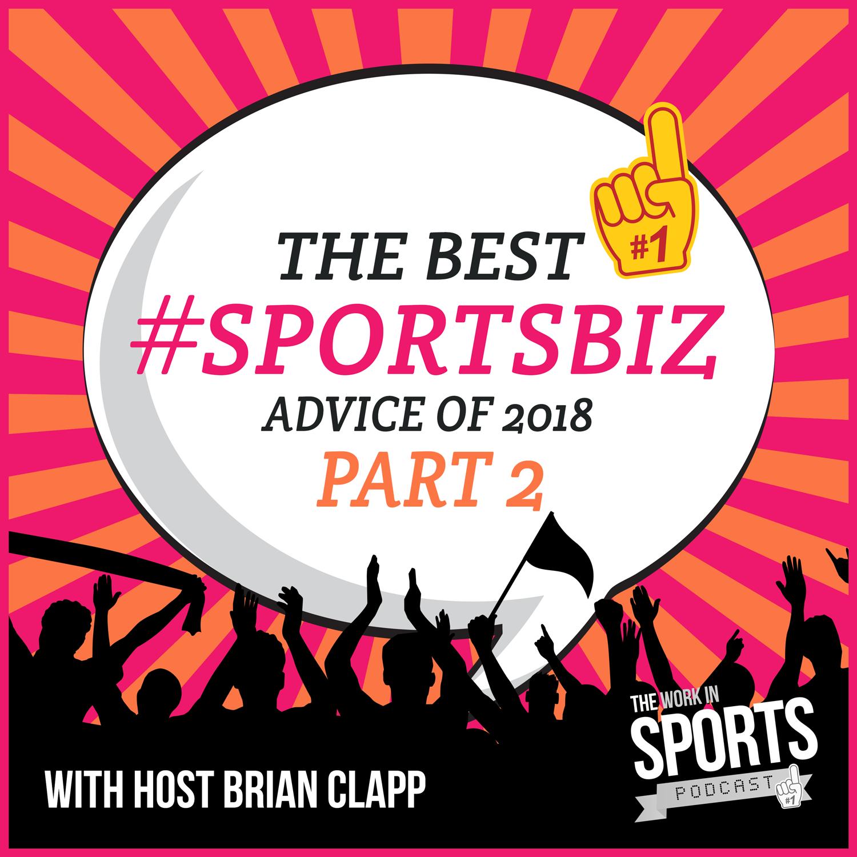 top #sportsbiz career advice