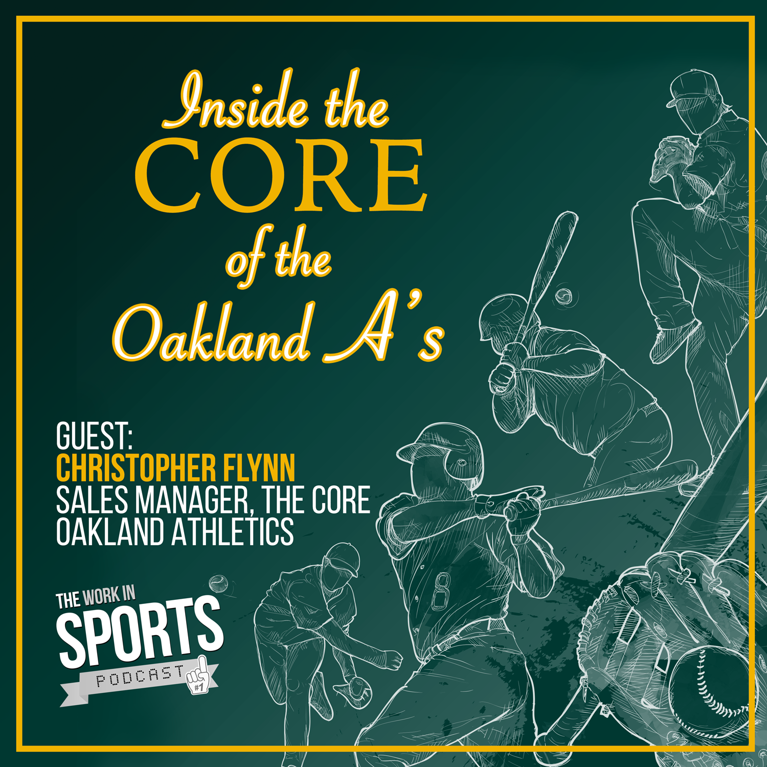 christopher flynn oakland a's work in sports podcast