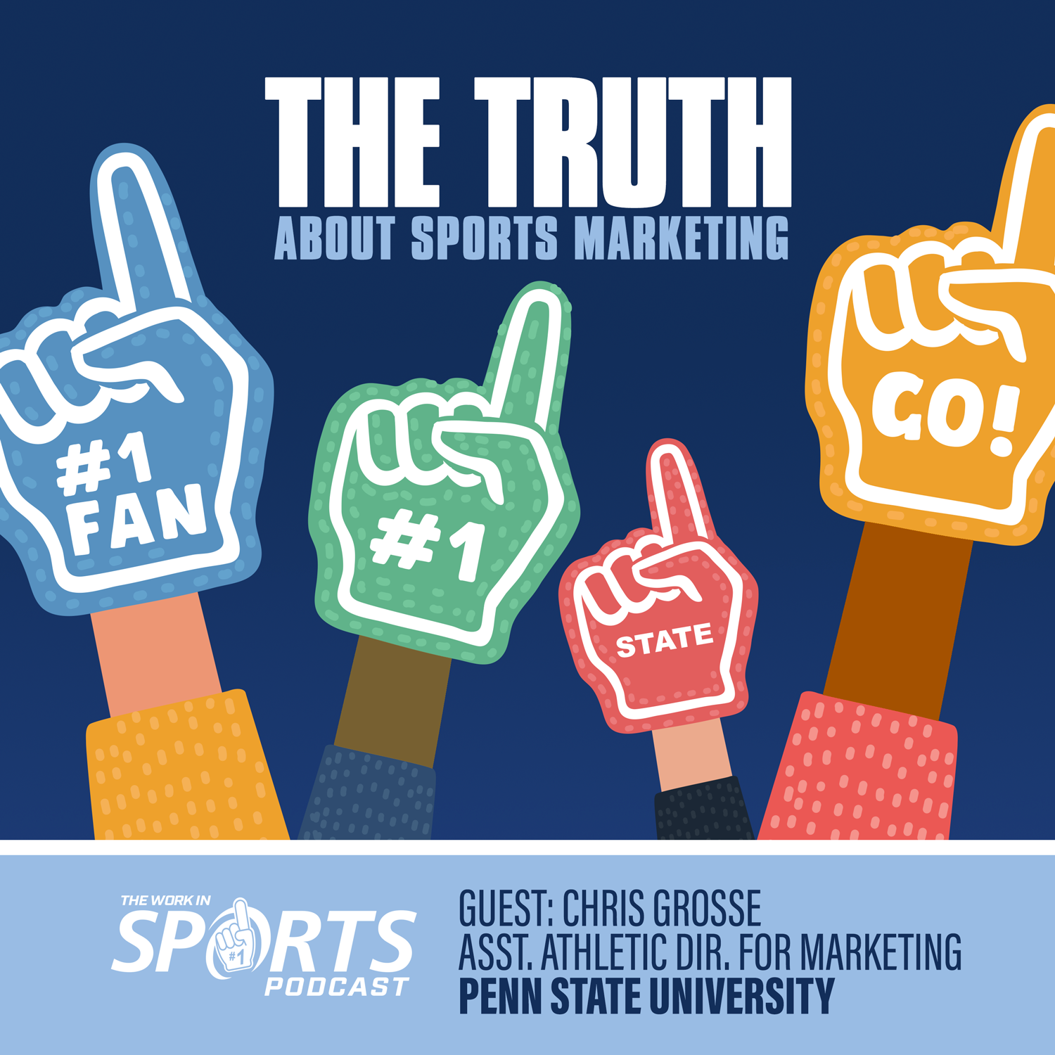 Chris grosse Penn State Assistant Athletic Director for Marketing