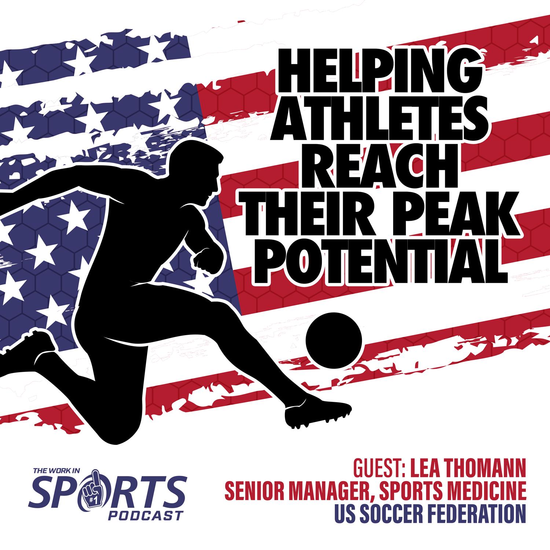 US Soccer federation Dr Lea Thomann