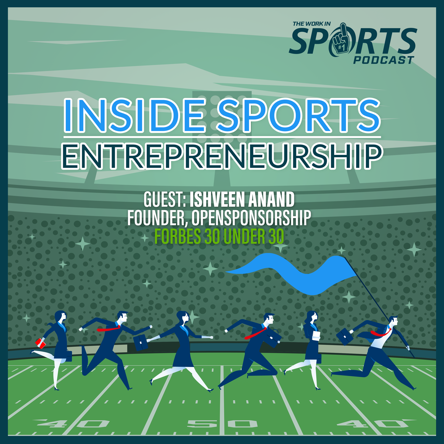 Ishveen Anand opensponsorship work in sports podcast