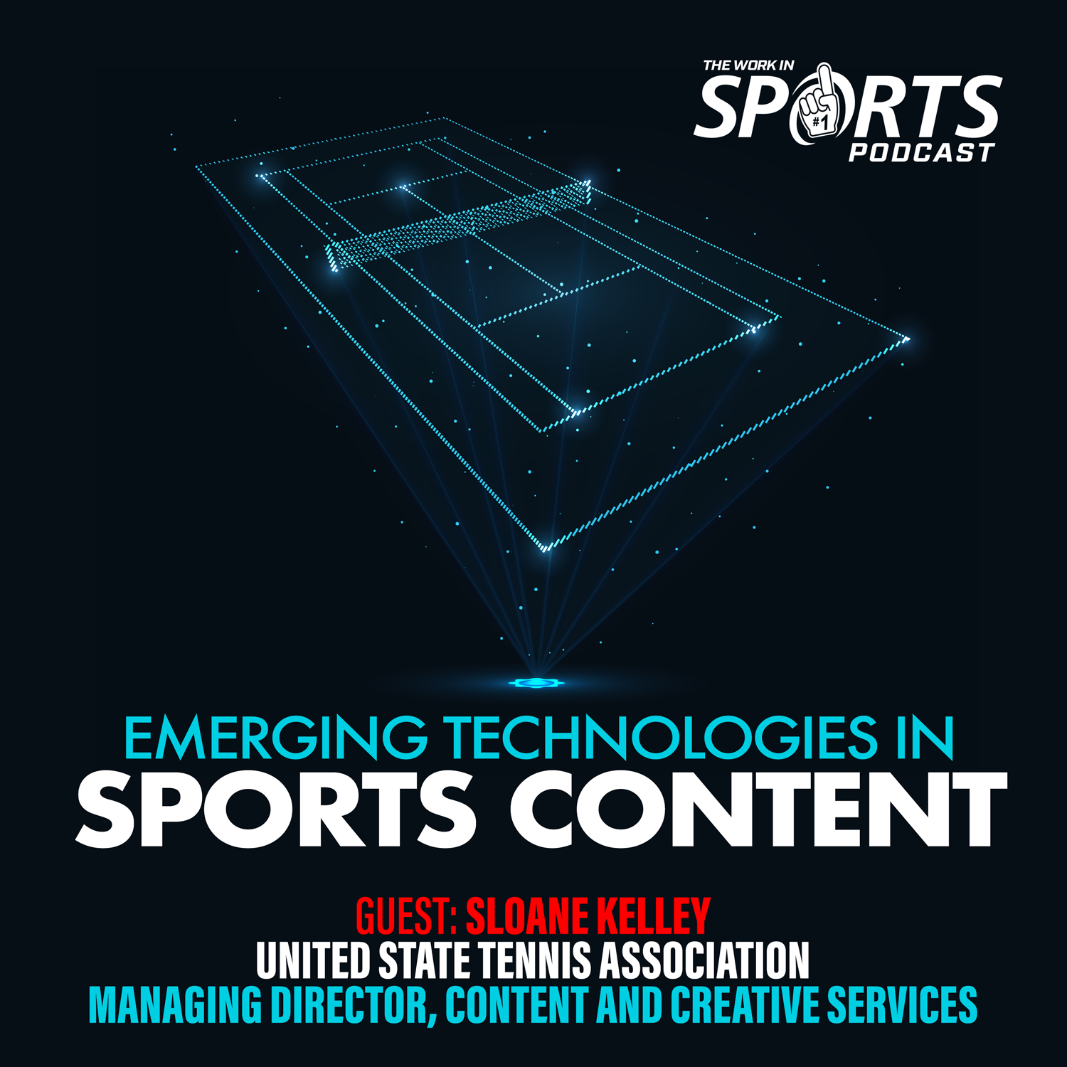 Sloane Kelley USTA managing director content Work In Sports podcast
