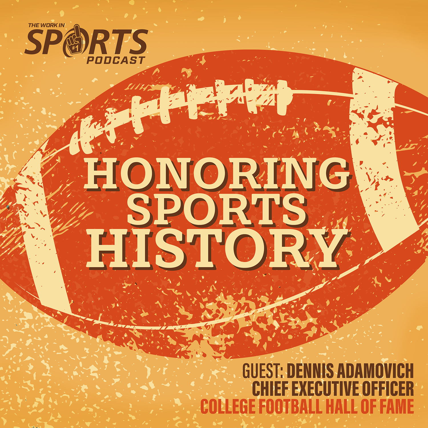 Dennis Adamovich college football hall of fame ceo