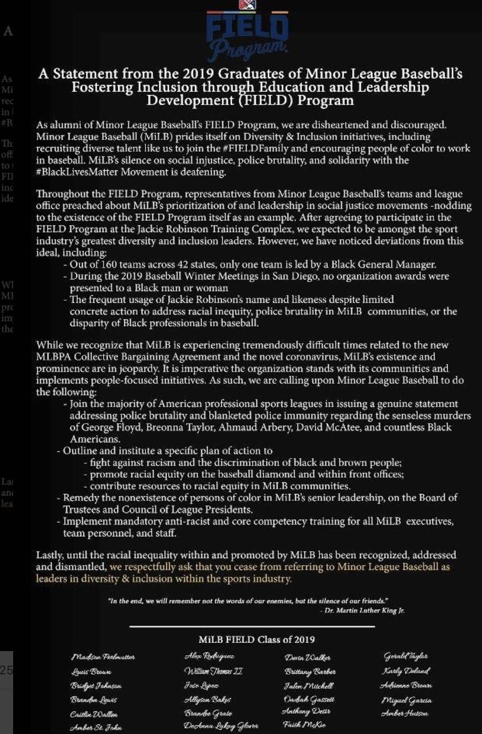 FIELD program statement