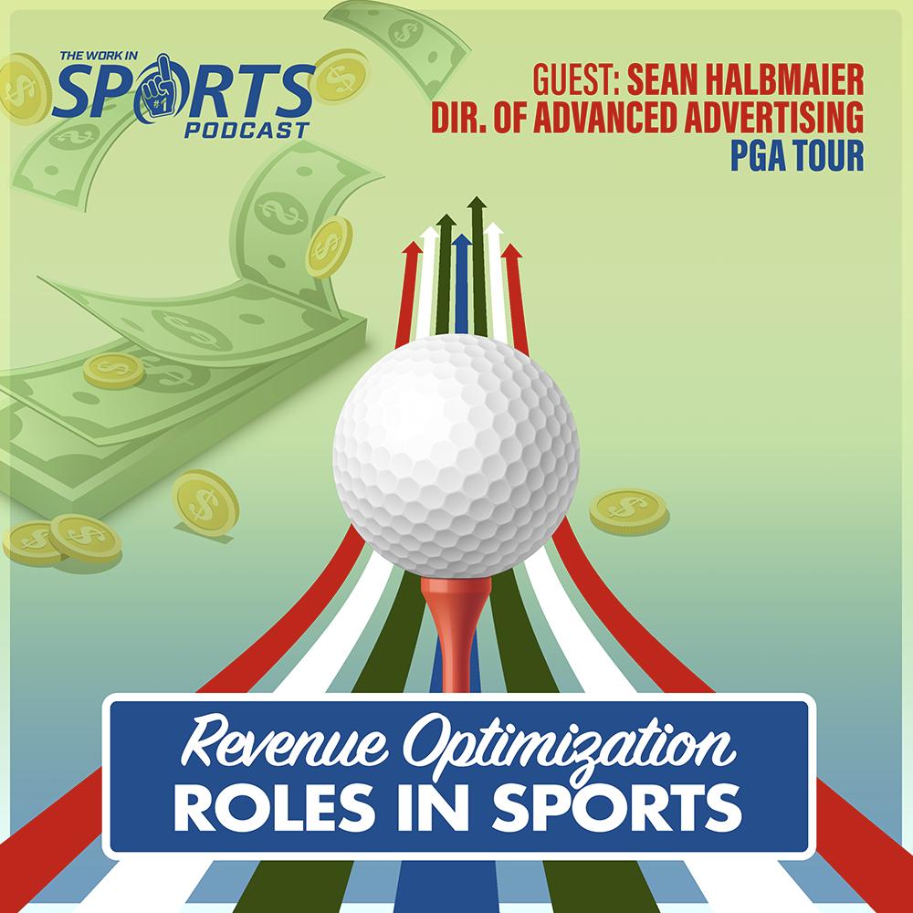 revenue optimization in sports Sean halbmaier pga tour